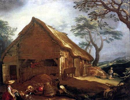 Abraham Bloemaert - Bauernhaus