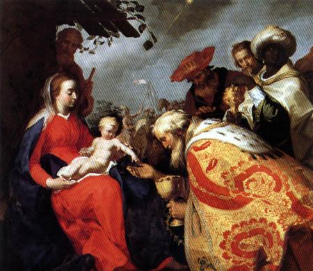 Abraham Bloemaert - The Adoration of the Magi