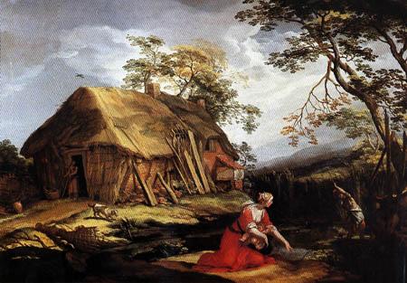 Abraham Bloemaert - Latona und die lykischen Bauern