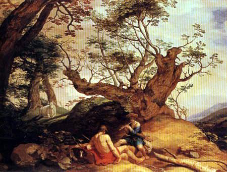 Abraham Bloemaert - Mercure et Argos