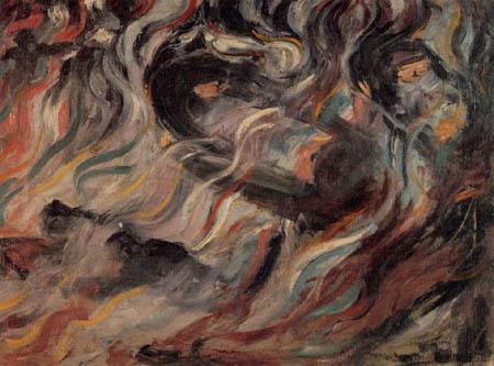 Umberto (Humberto) Boccioni - Seelenzustände I - Die Abschiede