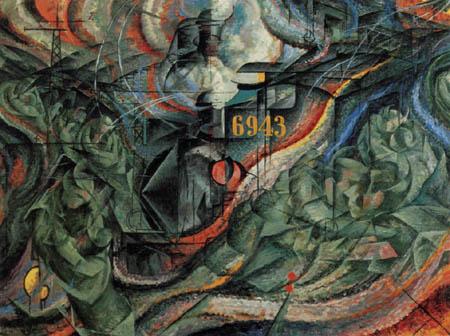Umberto (Humberto) Boccioni - Seelenzustände II - Die Abschiede