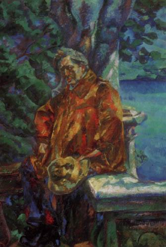 Umberto (Humberto) Boccioni - Porträt Ferruccio Busoni