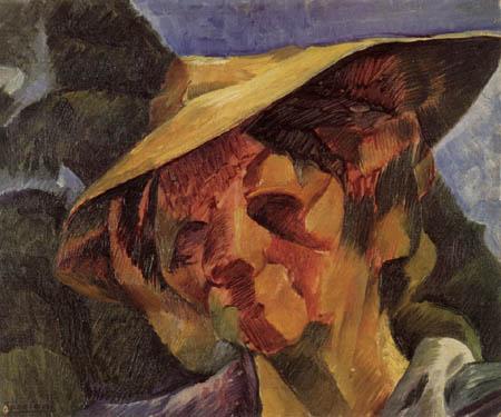 Umberto (Humberto) Boccioni - Portrait of Signora Busoni