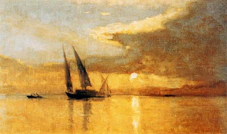François Bocion - Sunset