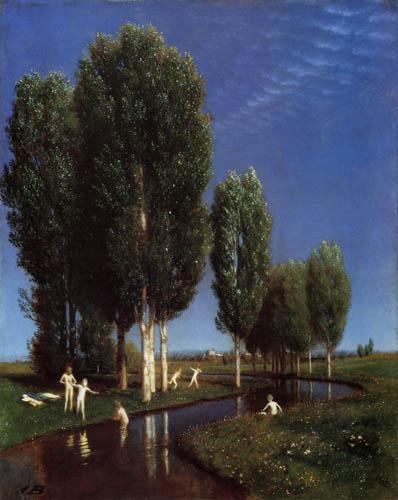 Arnold Böcklin - The Summer day