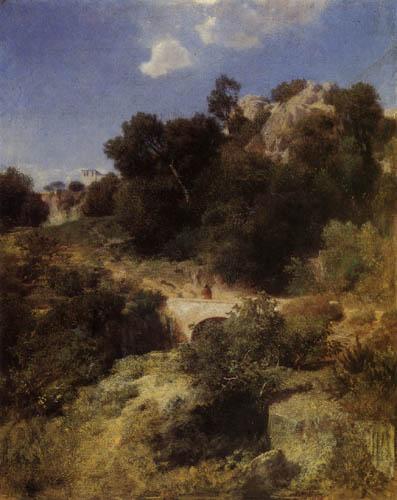 Arnold Böcklin - Wanderung durch die Berge