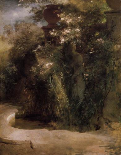 Arnold Böcklin - Venus im Brunnen