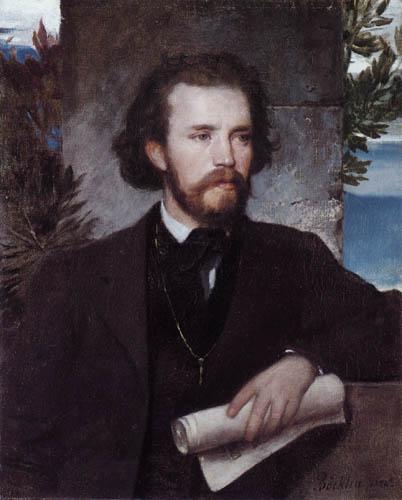 Arnold Böcklin - Portrait of Carl Wallenreiter