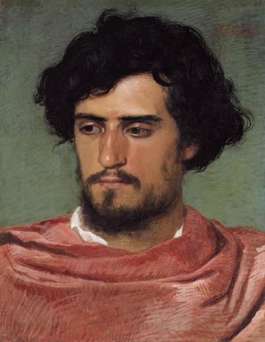 Arnold Böcklin - Portrait of a young Roman