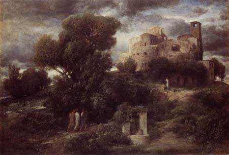 Arnold Böcklin - Die Pilger von Emmaus