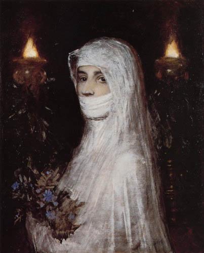 Arnold Böcklin - Vestal Virgin