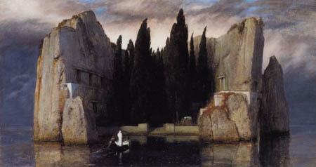 Arnold Böcklin - The deathly island II