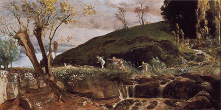 Arnold Böcklin - Diana on the hunt