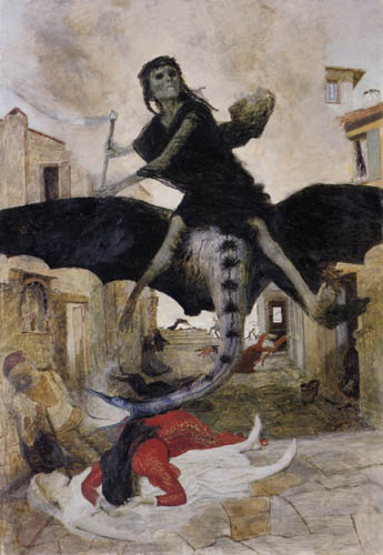 Arnold Böcklin - The plague