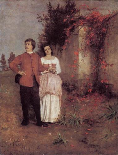 Arnold Böcklin - Der Künstler und seine Frau