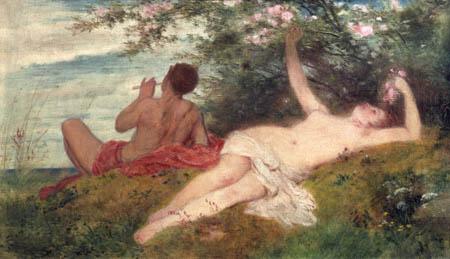Arnold Böcklin - The Spring