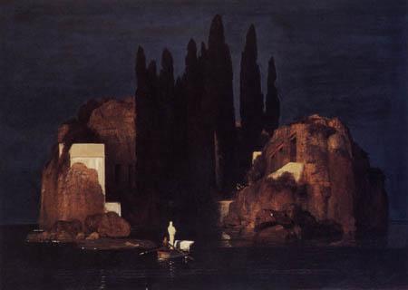 Arnold Böcklin - The deathly island I