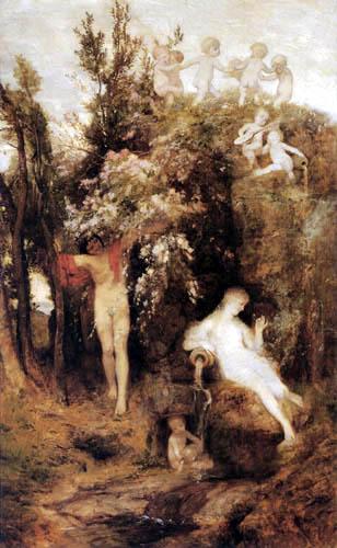 Arnold Böcklin - Fuente de la primavera
