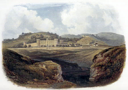 Karl Bodmer - Penitentiary near Pittsburgh
