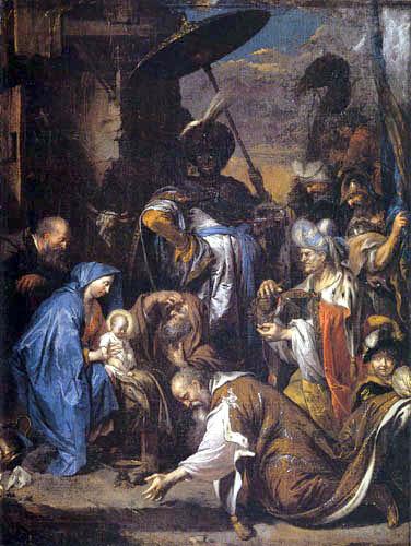 Jan Boeckhorst - Adoration of the Kings