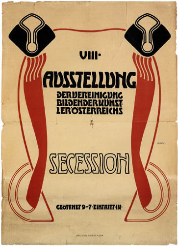 Adolf Michael Boehm - Poster for the 8th Exhibition of the Vienna Secession