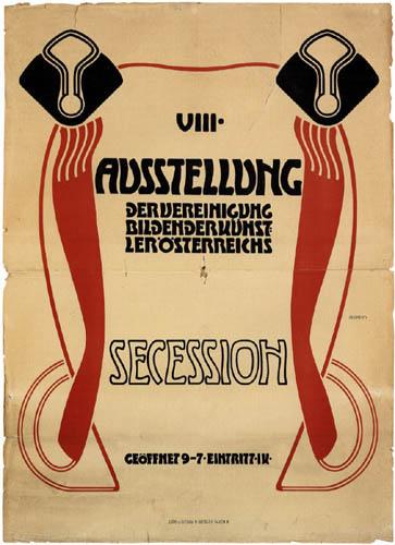 Adolf Michael Boehm - Affiche pour la 8e Exposition de la Sécession de Vienne