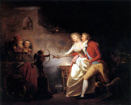 Louis-Léopold Boilly - The electrifying spark