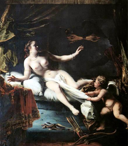 Ferdinand Bol - Semele in Erwartung des Zeus