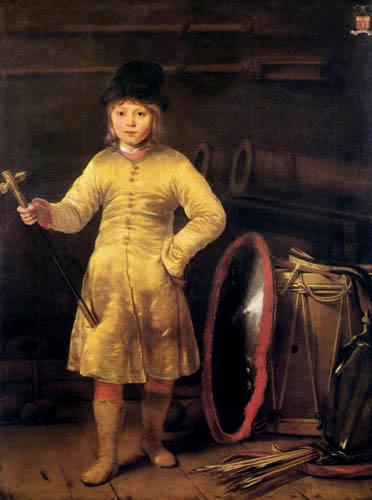Ferdinand Bol - Knabe im polnischen Kostüm