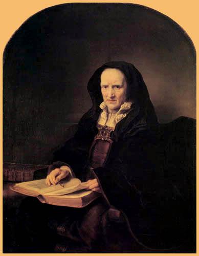 Ferdinand Bol - An old woman
