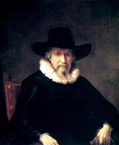 Ferdinand Bol - Portrait of a sitting man
