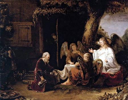 Ferdinand Bol - Abraham und die drei Engel