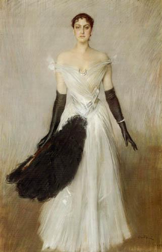 Giovanni Boldini - Portrait of a Woman