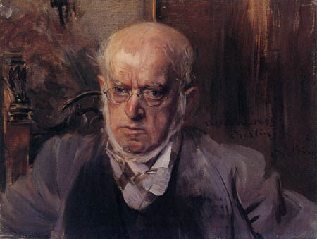 Giovanni Boldini - Portrait of Adolph Menzel