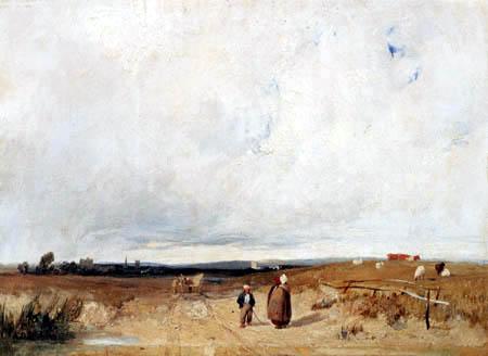Richard Parkes Bonington - La manière à Saint Omer