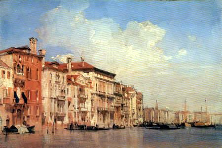 Richard Parkes Bonington - Canal Grande, Venice
