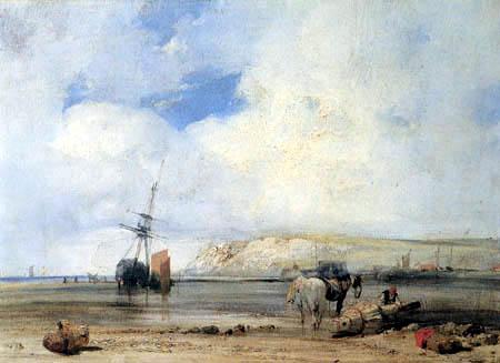 Richard Parkes Bonington - À la côte du Picardy