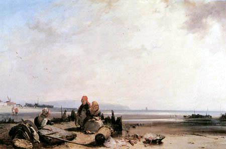 Richard Parkes Bonington - Coastal landscape