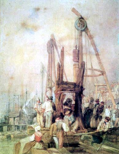 Richard Parkes Bonington - Workers in Rouen