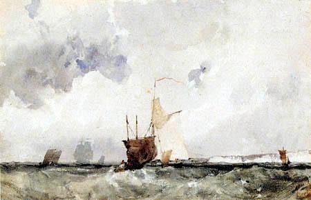 Richard Parkes Bonington - Voiliers