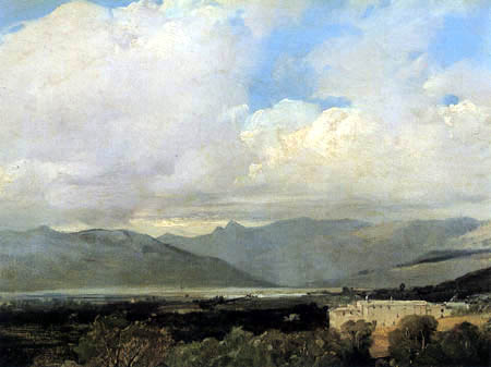 Richard Parkes Bonington - Mountainous Landscape
