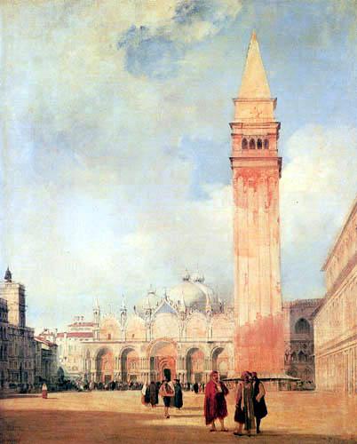 Richard Parkes Bonington - Piazza San Marco, Venice