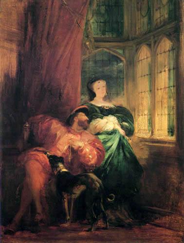 Richard Parkes Bonington - Francis I. and Margaret of Navarre