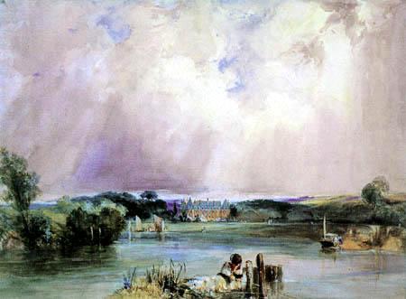 Richard Parkes Bonington - Château of the Duchesse de Berry