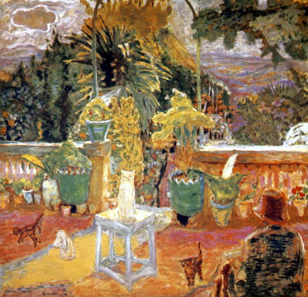 Pierre Bonnard - Terrace in Grasse