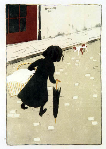Pierre Bonnard - The little laundress