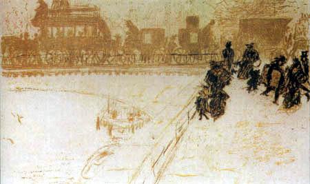 Pierre Bonnard - Die Brücke