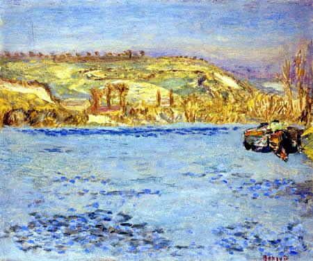 Pierre Bonnard - The Seine at Vernonnet