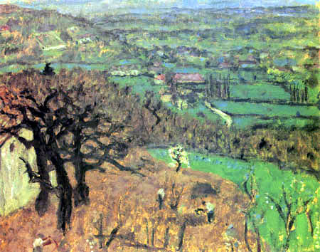 Pierre Bonnard - Landscape in the Dauphine